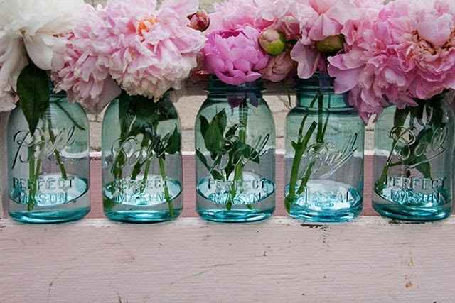 mason-jars-with-pink-peonies