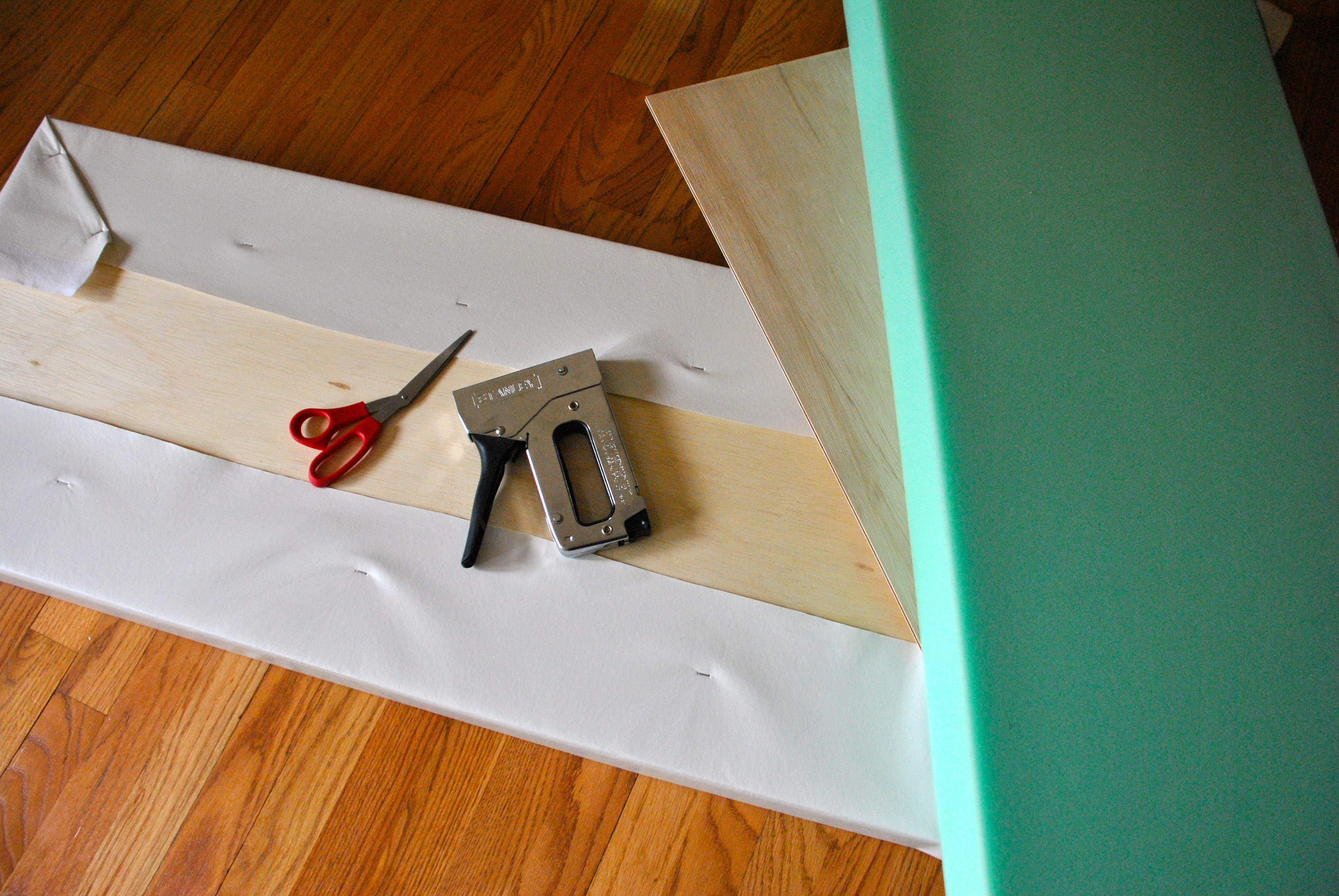 How To Make No Sew Cushions For Banquette Seating Or